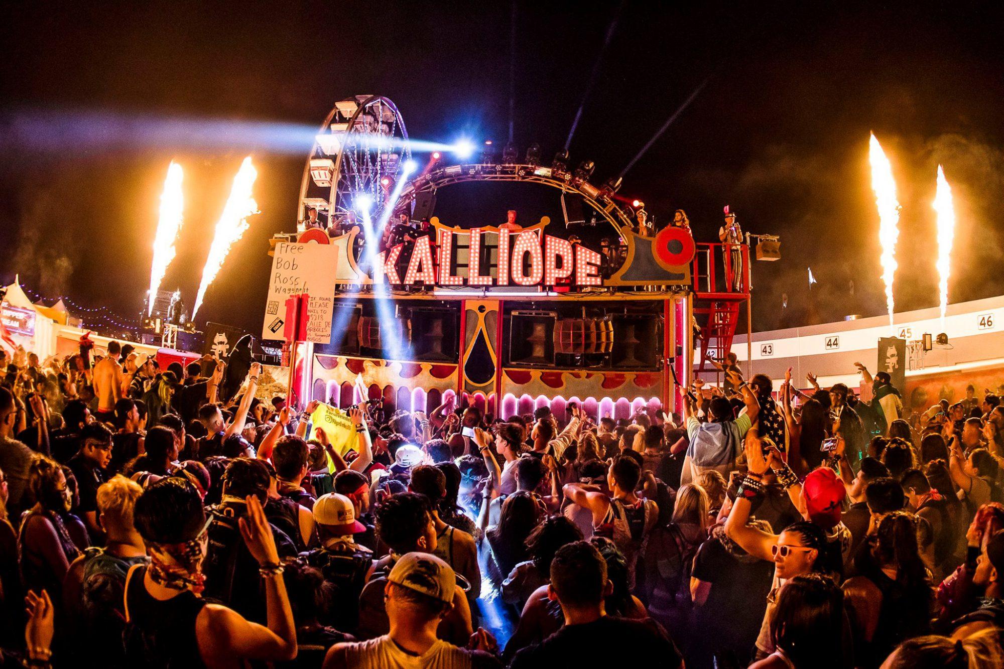 Monstercat Kalliope Art Car Takeover 2017