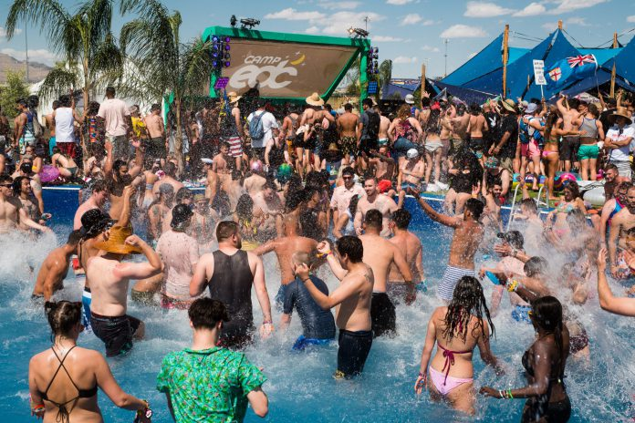 EDC Las Vegas 2018 Camp EDC Pool Party