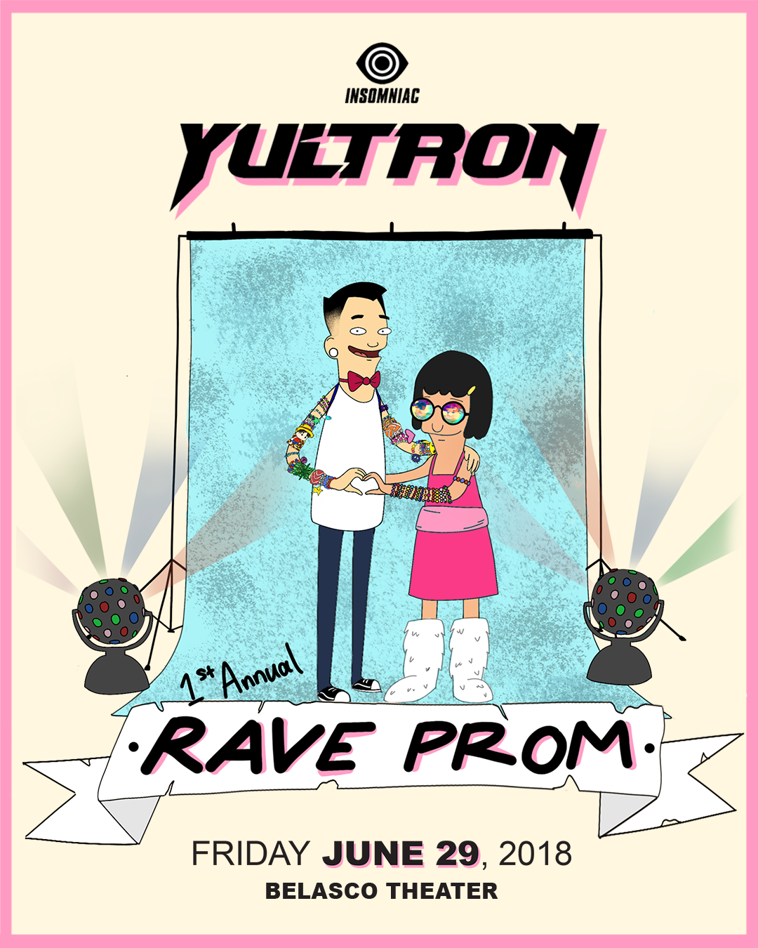 Yultron 1st Annual Rave Prom