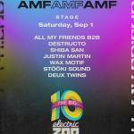 Electric Zoo 2018 AMFAMFAMF Stage Takeover