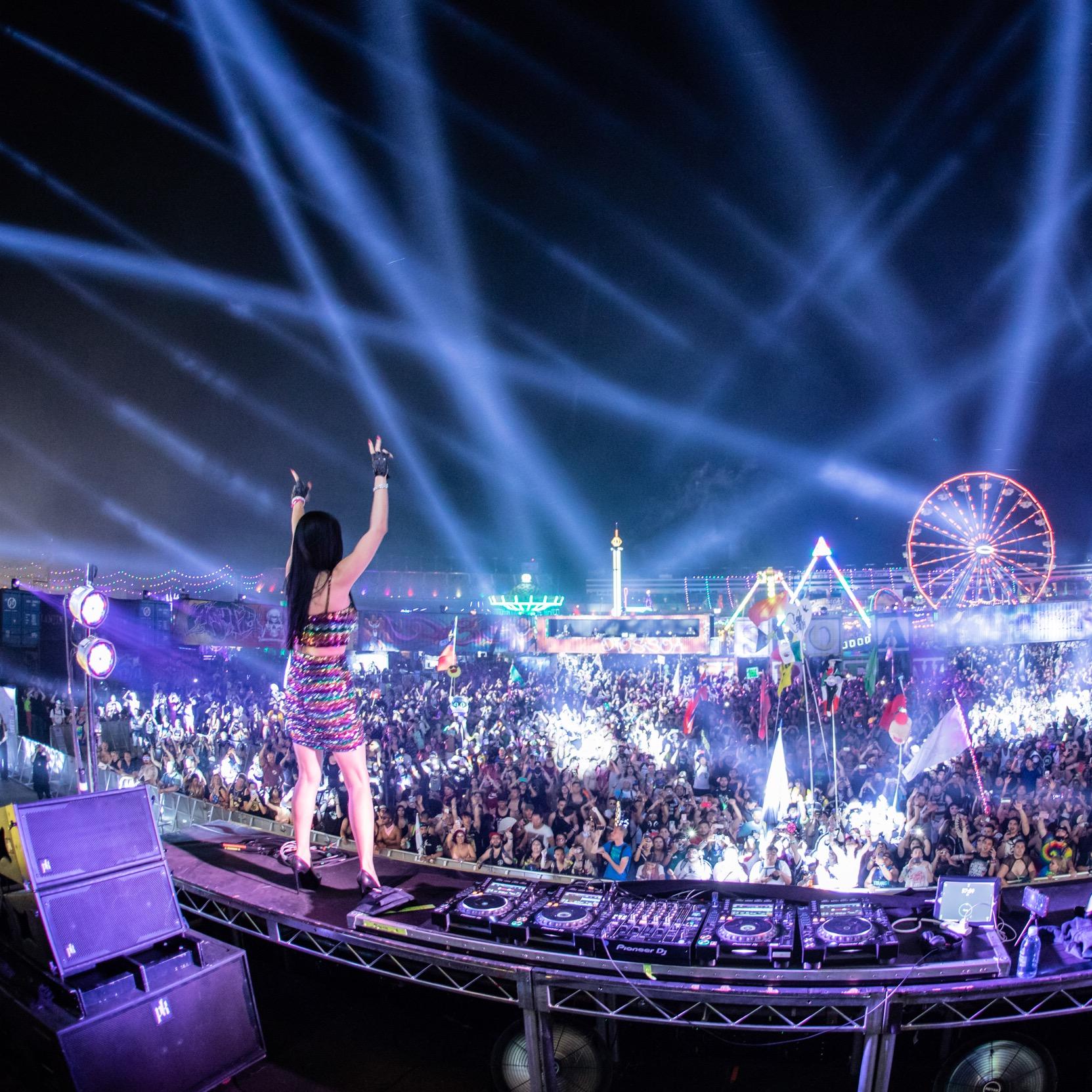 Lady Faith at EDC Las Vegas