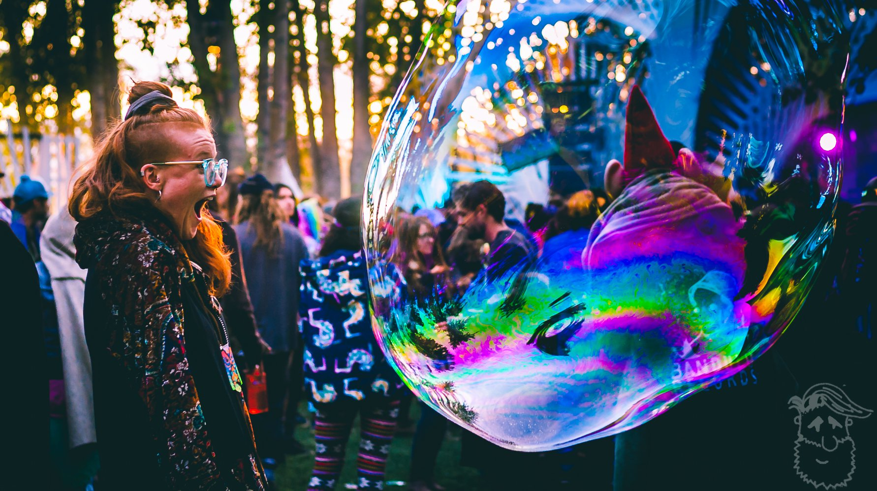 Bass Coast 2018 Bubble Wonder