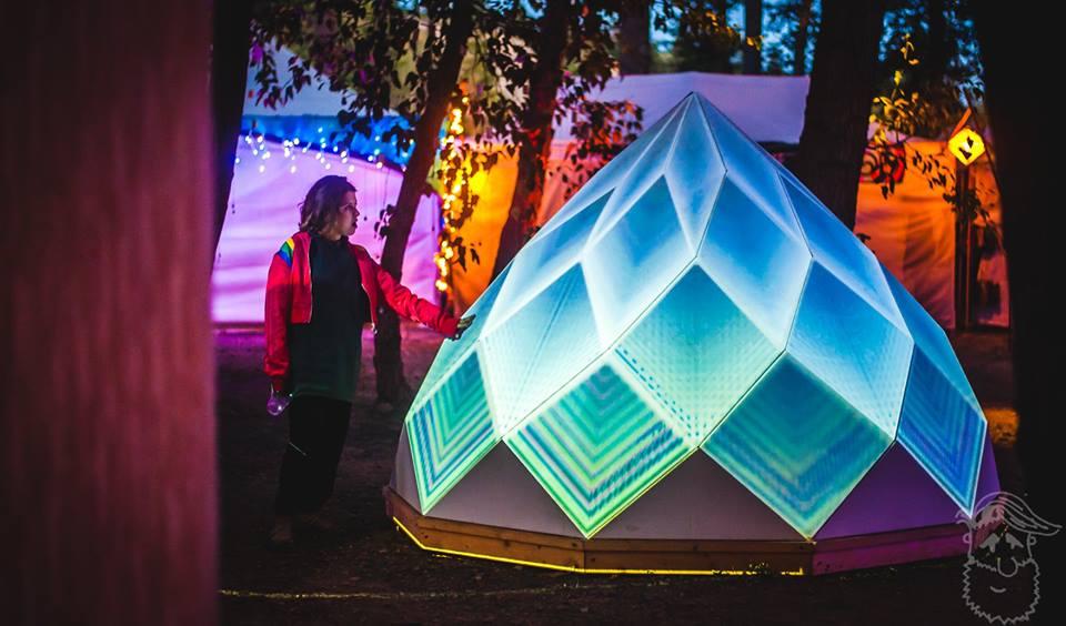 Bass Coast 2018 Art Installation