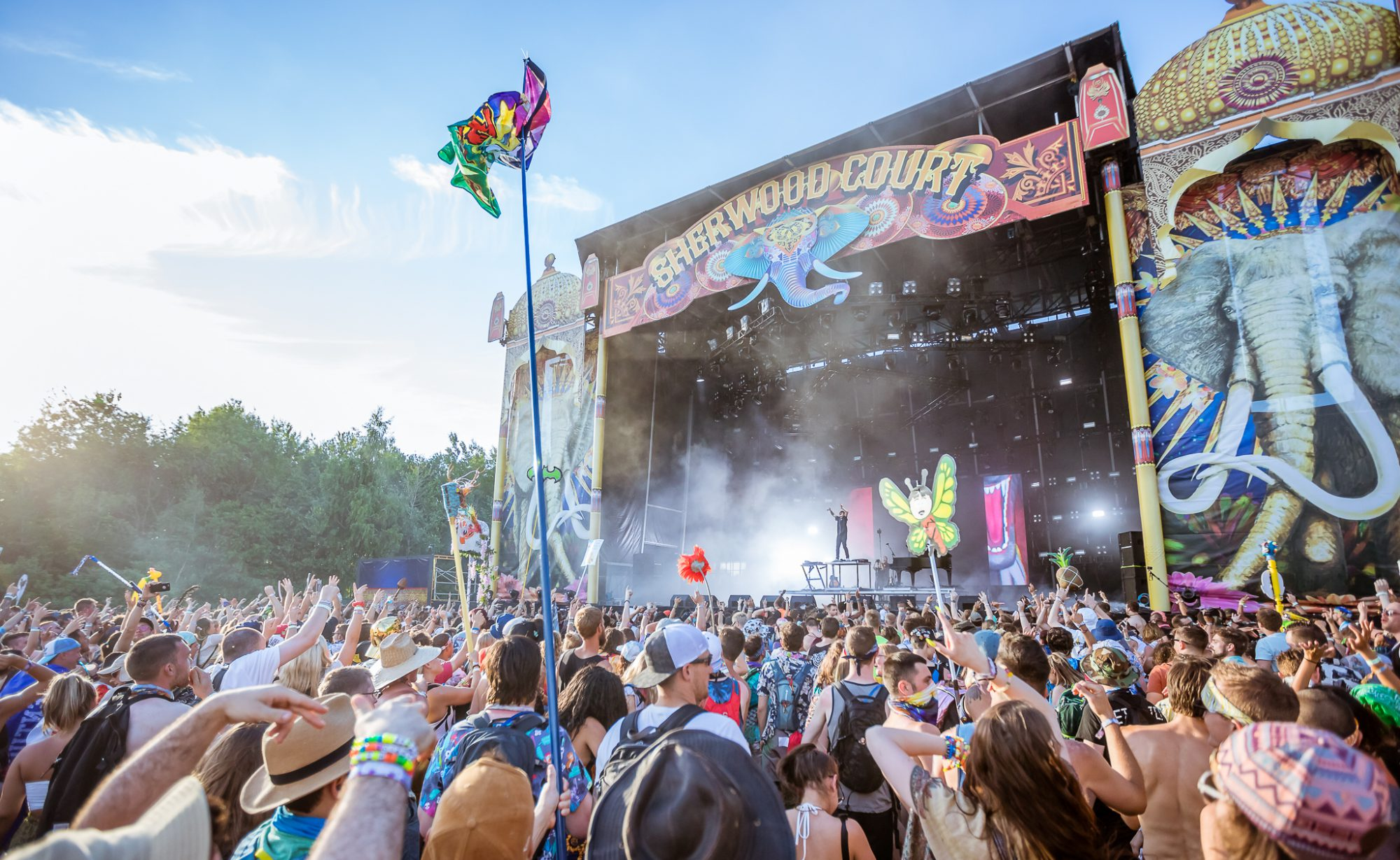 Electric Forest 2018 First Weekend Sherwood Court Stage