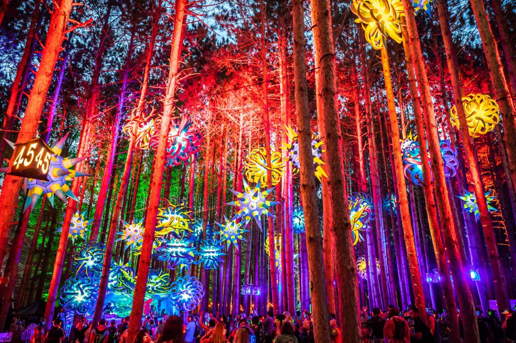 Electric Forest 2018 First Weekend Hammocks