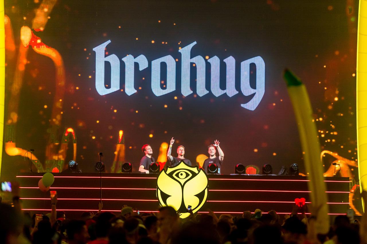 Brohug at Tomorrowland 2018