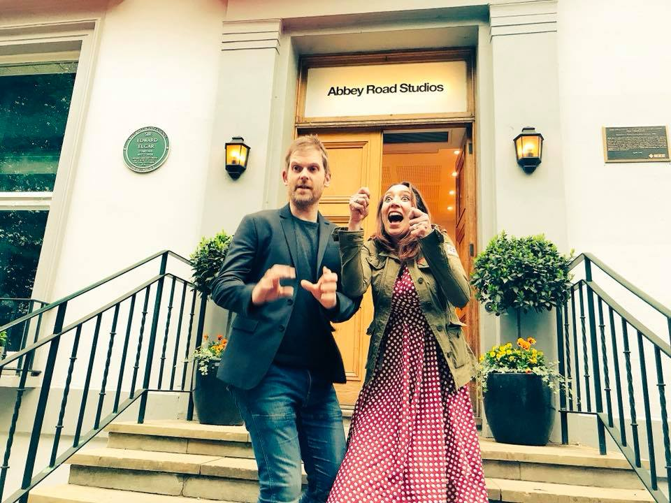 Hybrid-Light Of The Fearless Album Complete at Abbey Road Studios