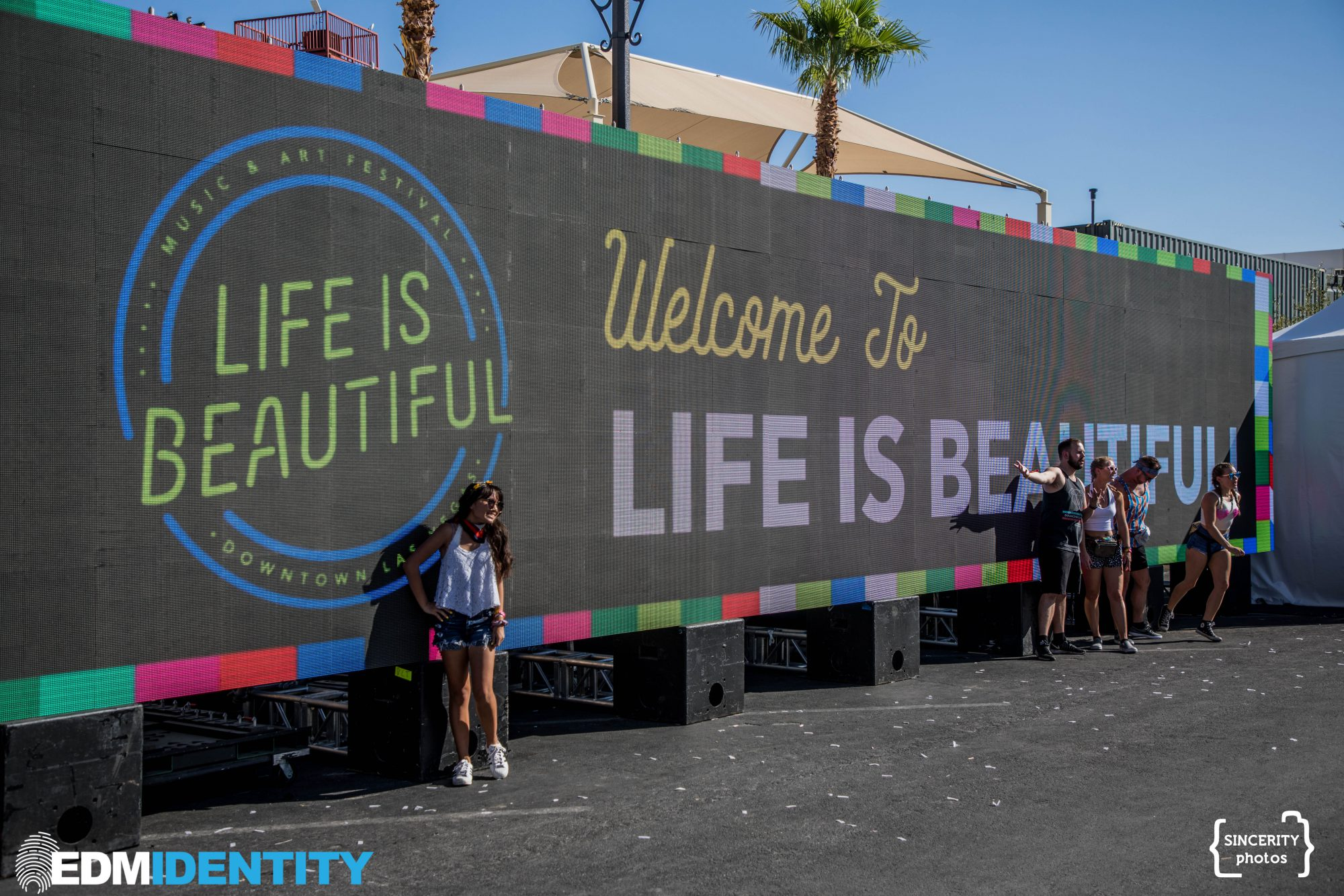 Life is Beautiful LED Sign