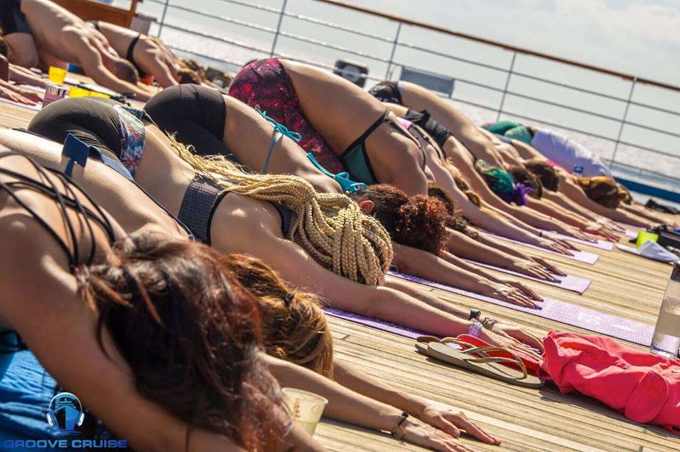 Groove Cruise Cabo 2018 Deep House Yoga