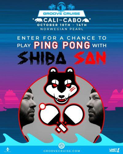 Groove Cruise Cabo 2018 Ping Pong Shiba San