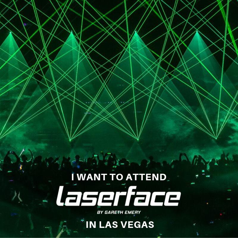 Gareth Emery Laserface Contest