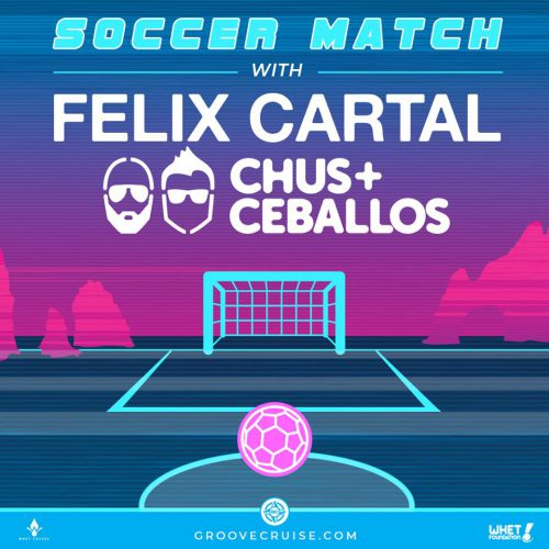 Groove Cruise Cabo 2018 Soccer Match