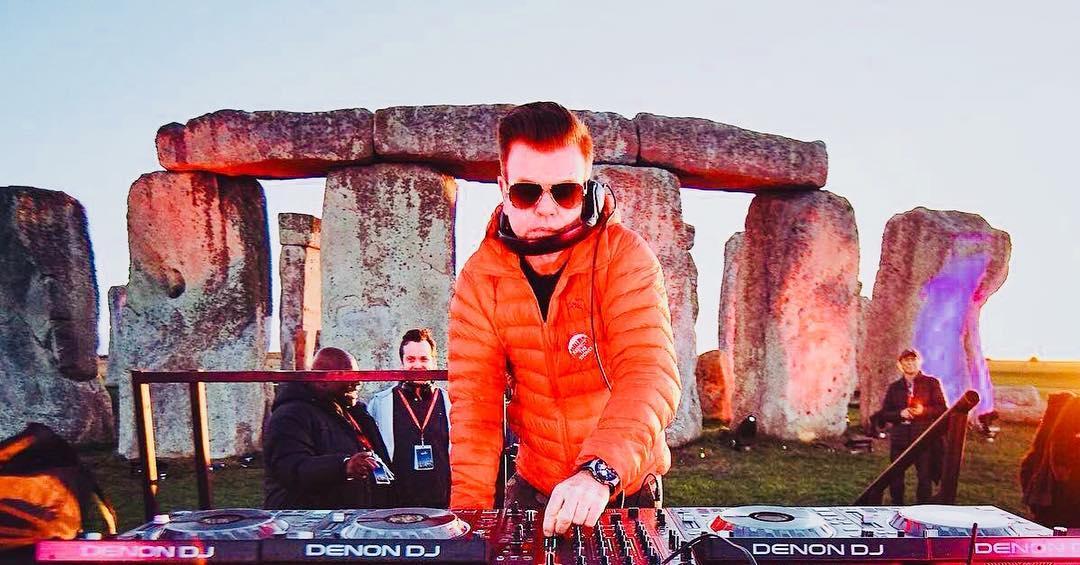 Paul Oakenfold Stonehenge