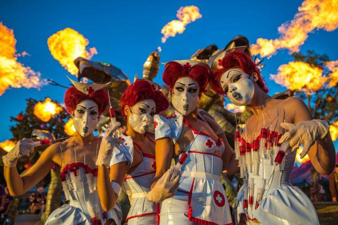 Escape: Psycho Circus 2018 Creepy Nurses