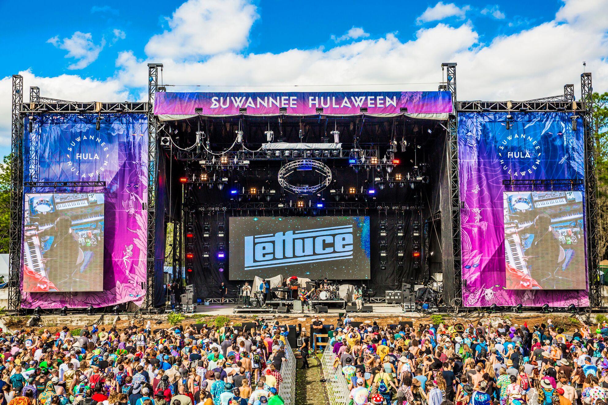 Suwannee Hulaween 2018 Lettuce