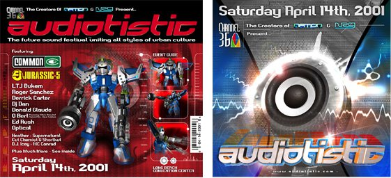 Audiotistic 2001 Flyer