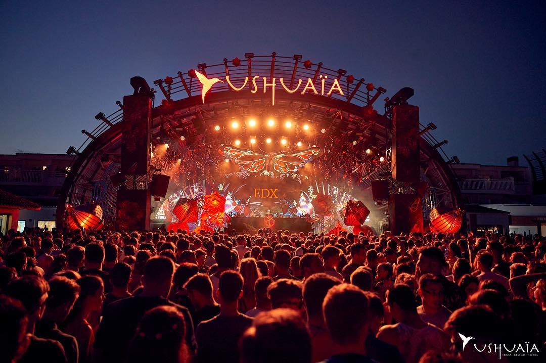 EDX Ibiza 2018 Ushuaïa