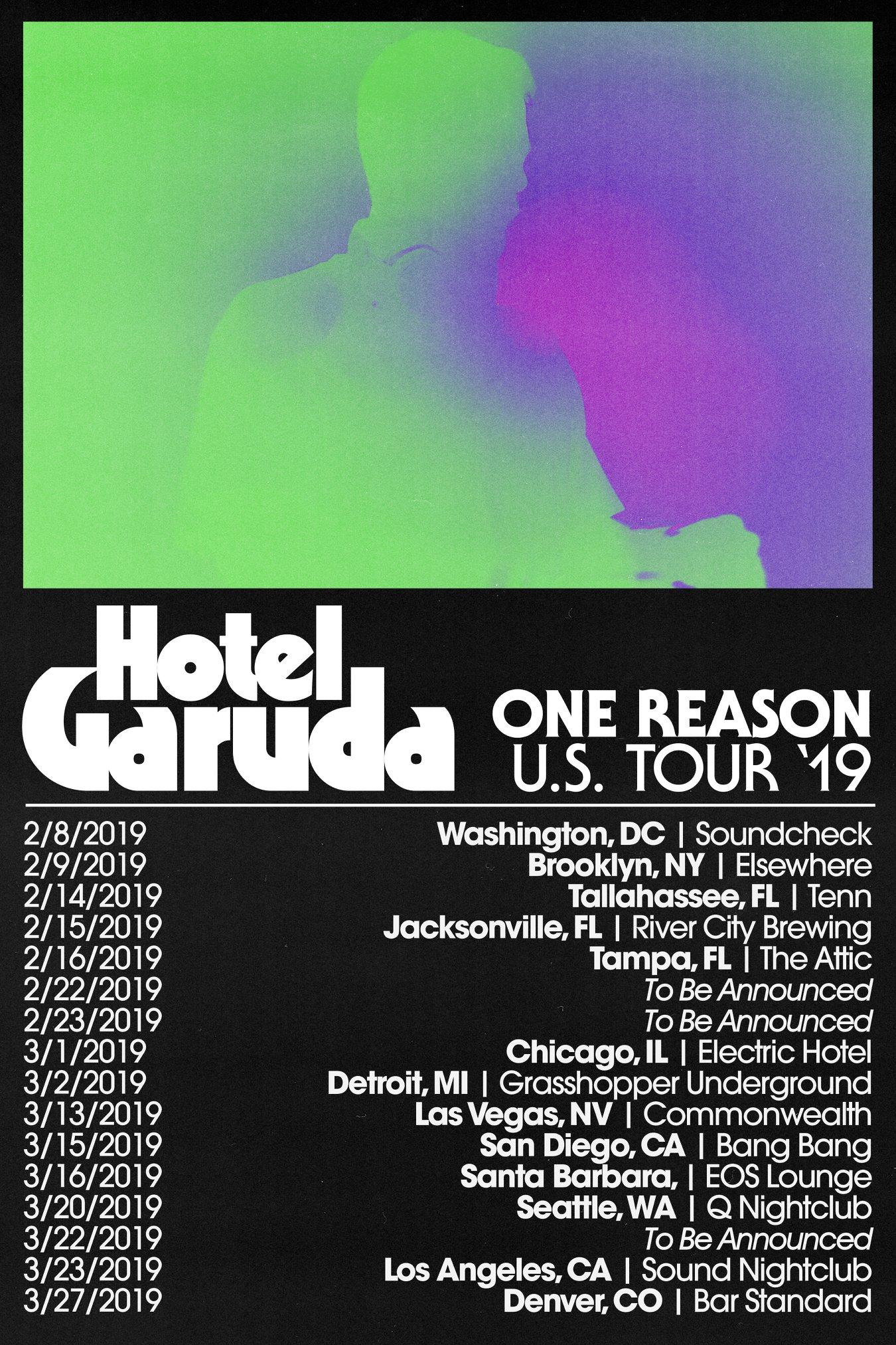 Hotel Garuda One Reason US Tour 2019