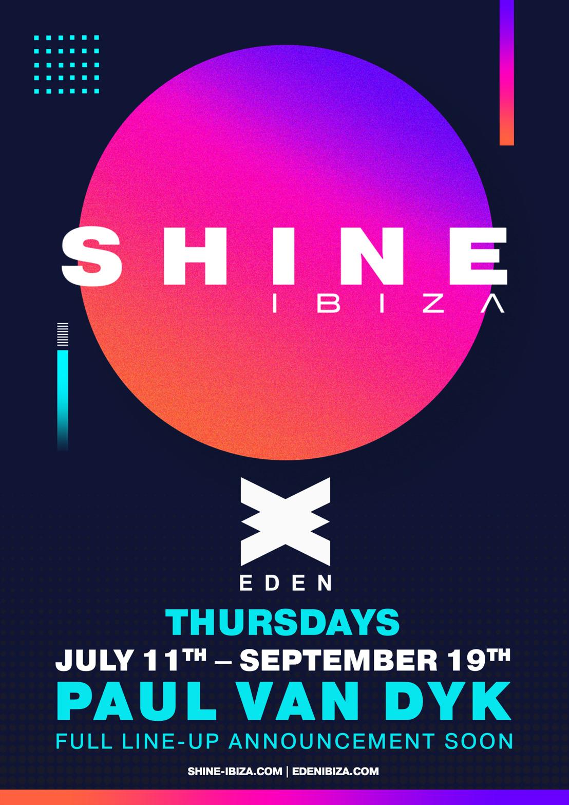 SHINE Ibiza 2019 Announcement