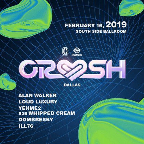 Crush Dallas 2019 Lineup