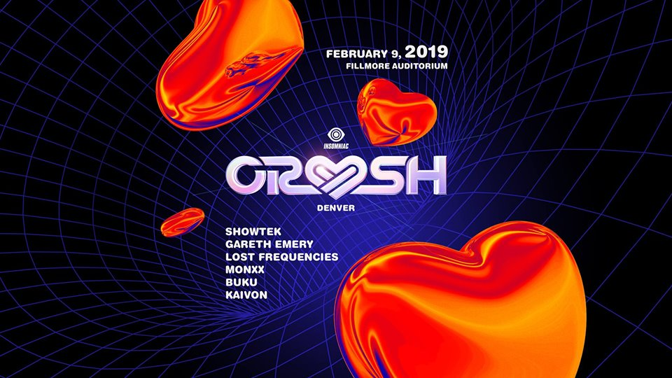 Crush Denver 2019 Lineup