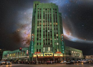 STS9 at The Wiltern - Exterior