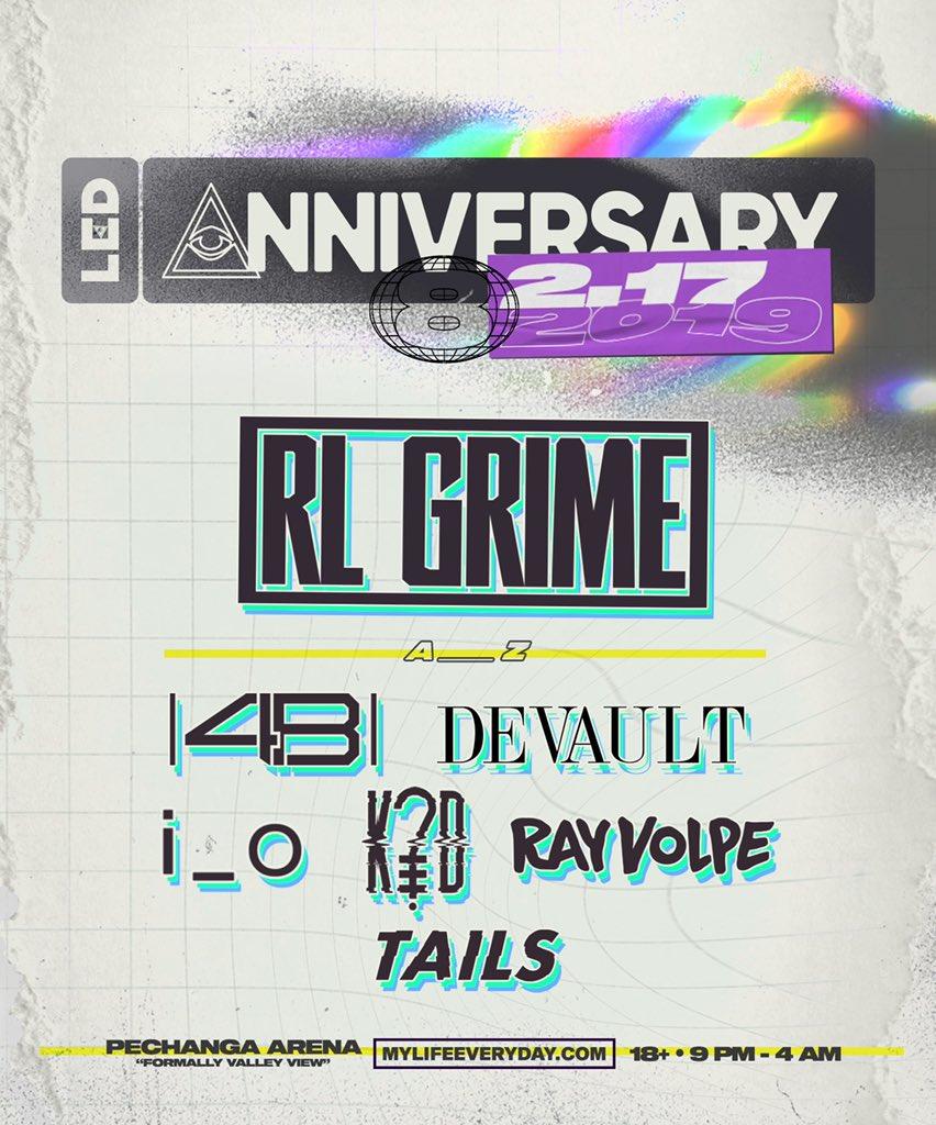 LED Anniversary VIII Lineup