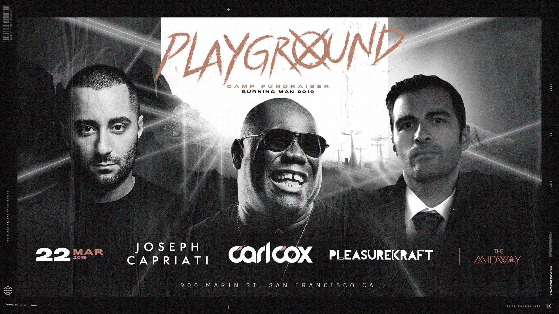 Playground Fundraiser 2019 Flyer