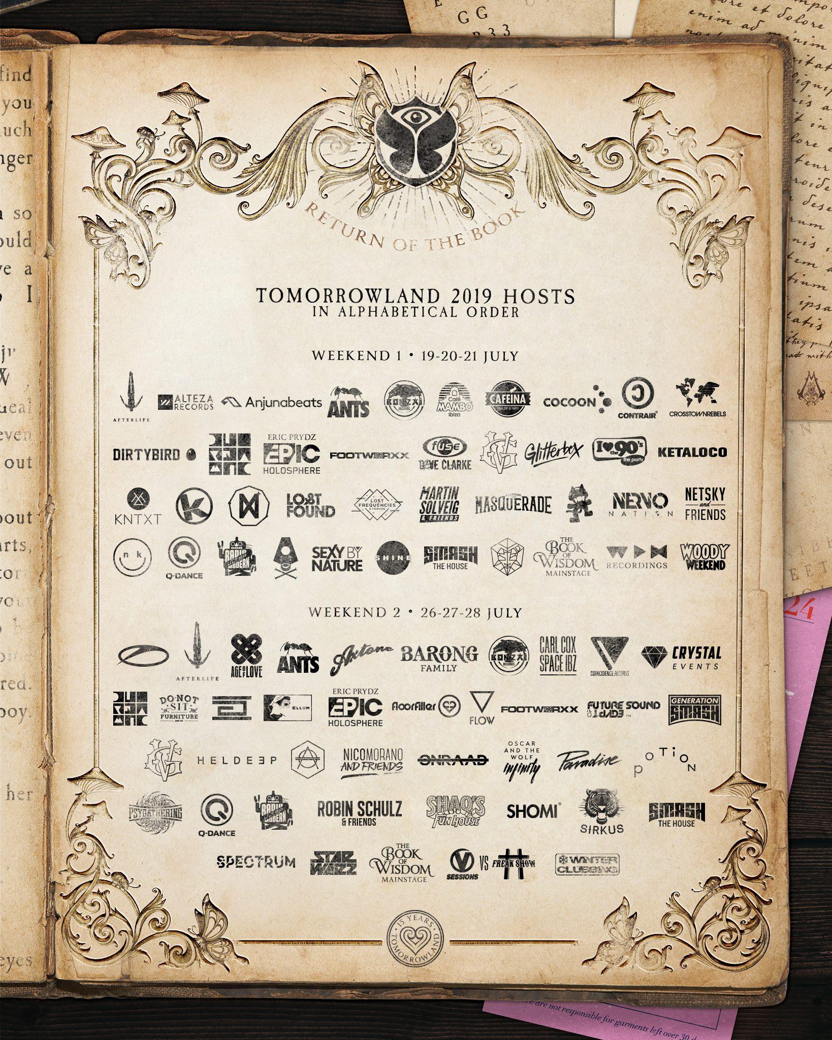 Tomorrowland 2019 Stage Hosts