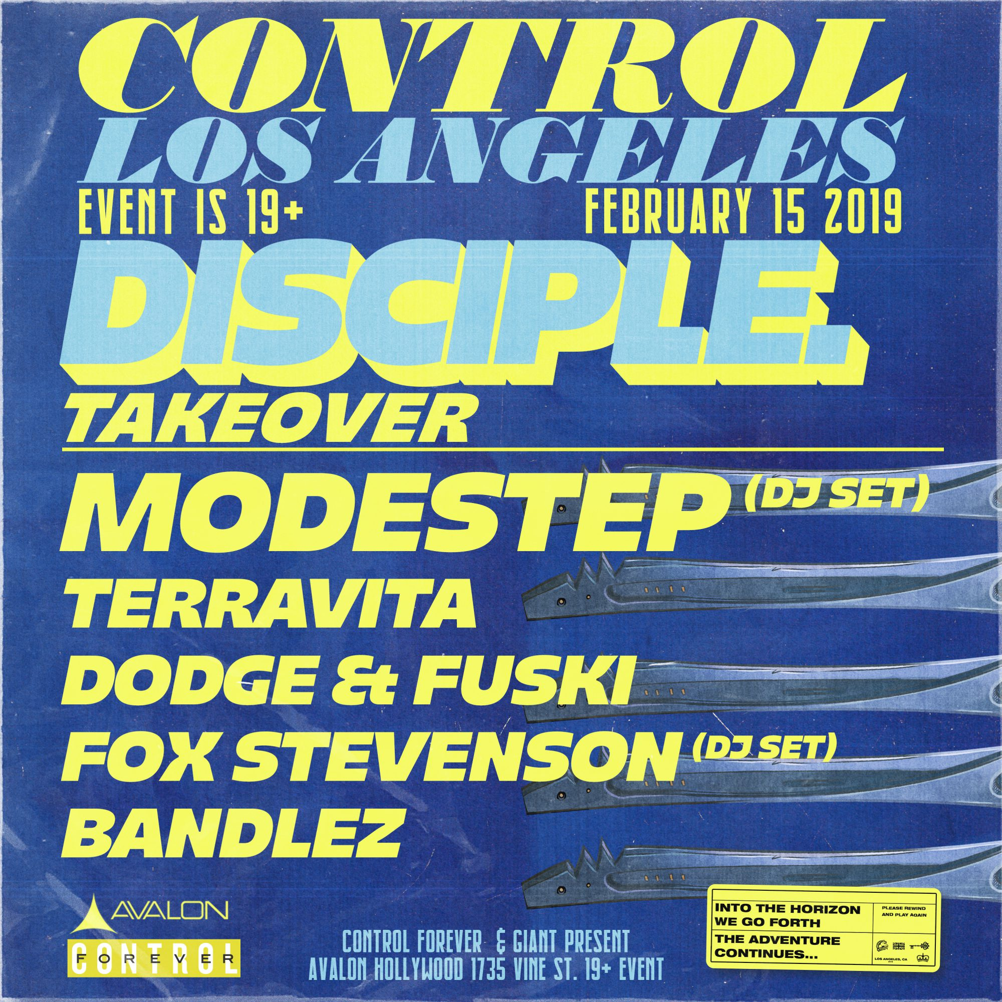 Disciple Records Takeover Avalon Hollywood Lineup