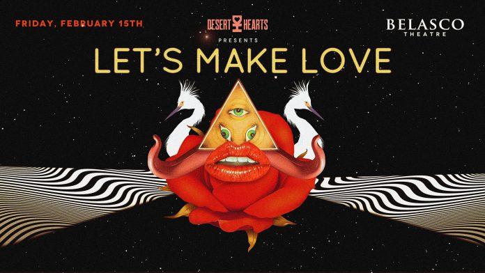Desert Hearts Let's Make Love Banner