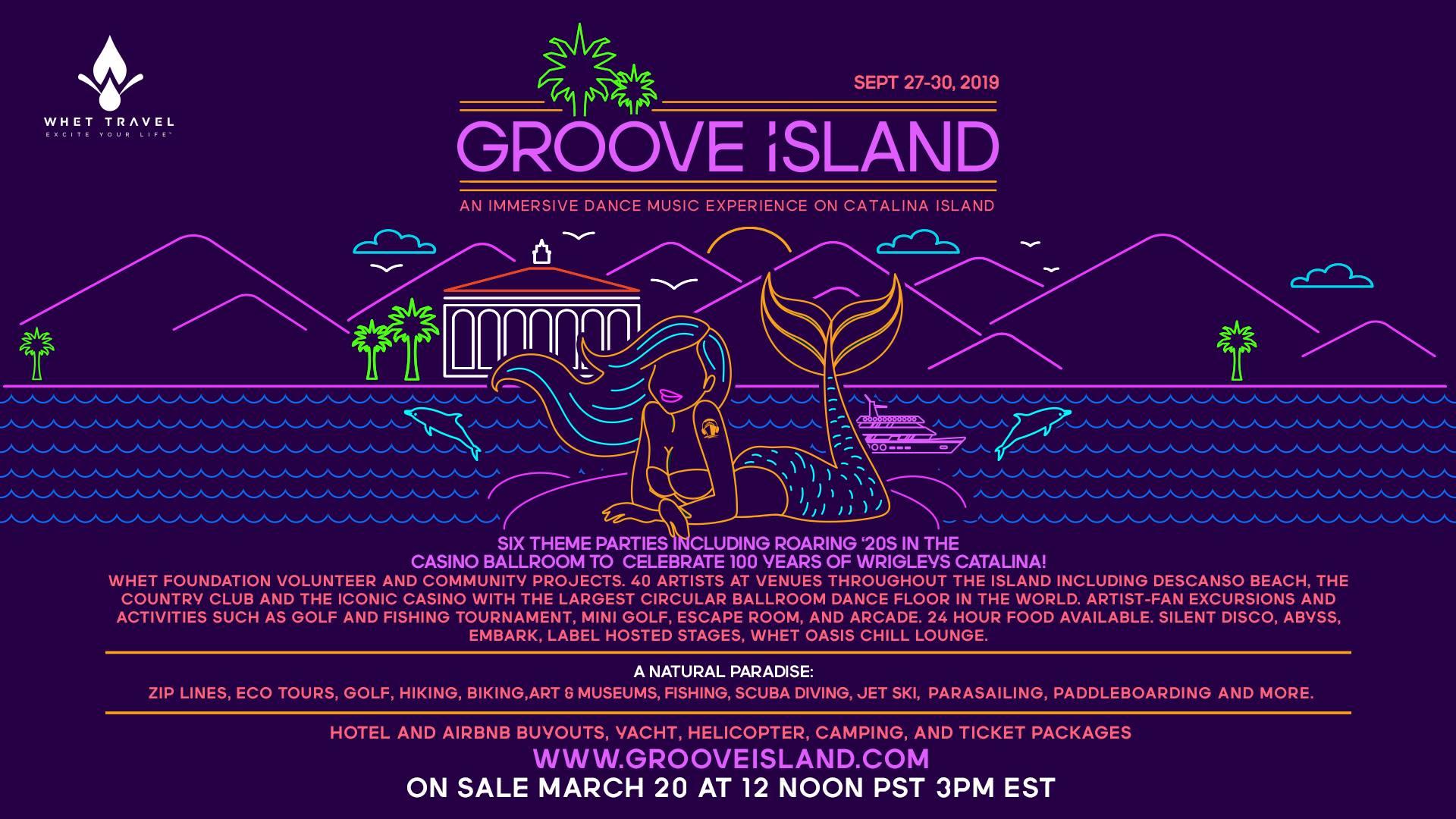 Groove Island 2019 Flyer