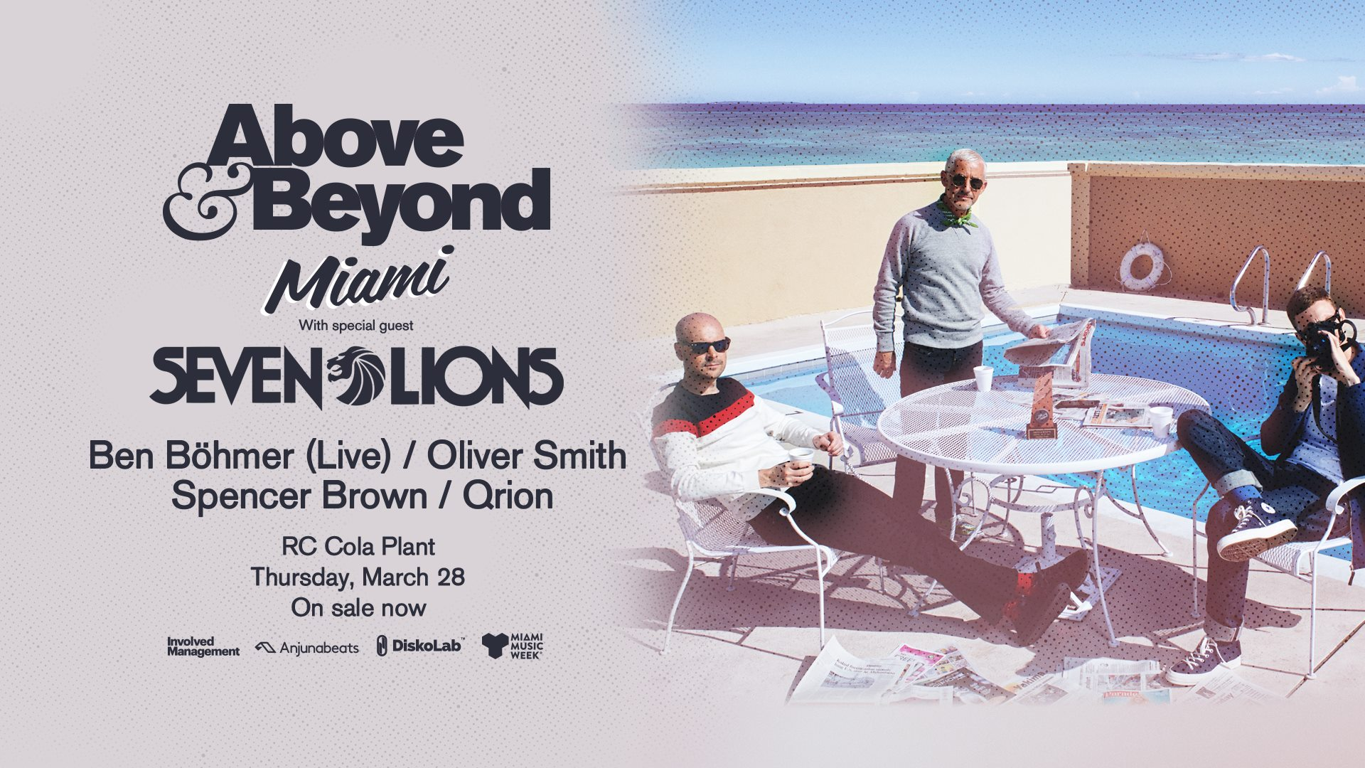Above & Beyond Miami 2019 Lineup