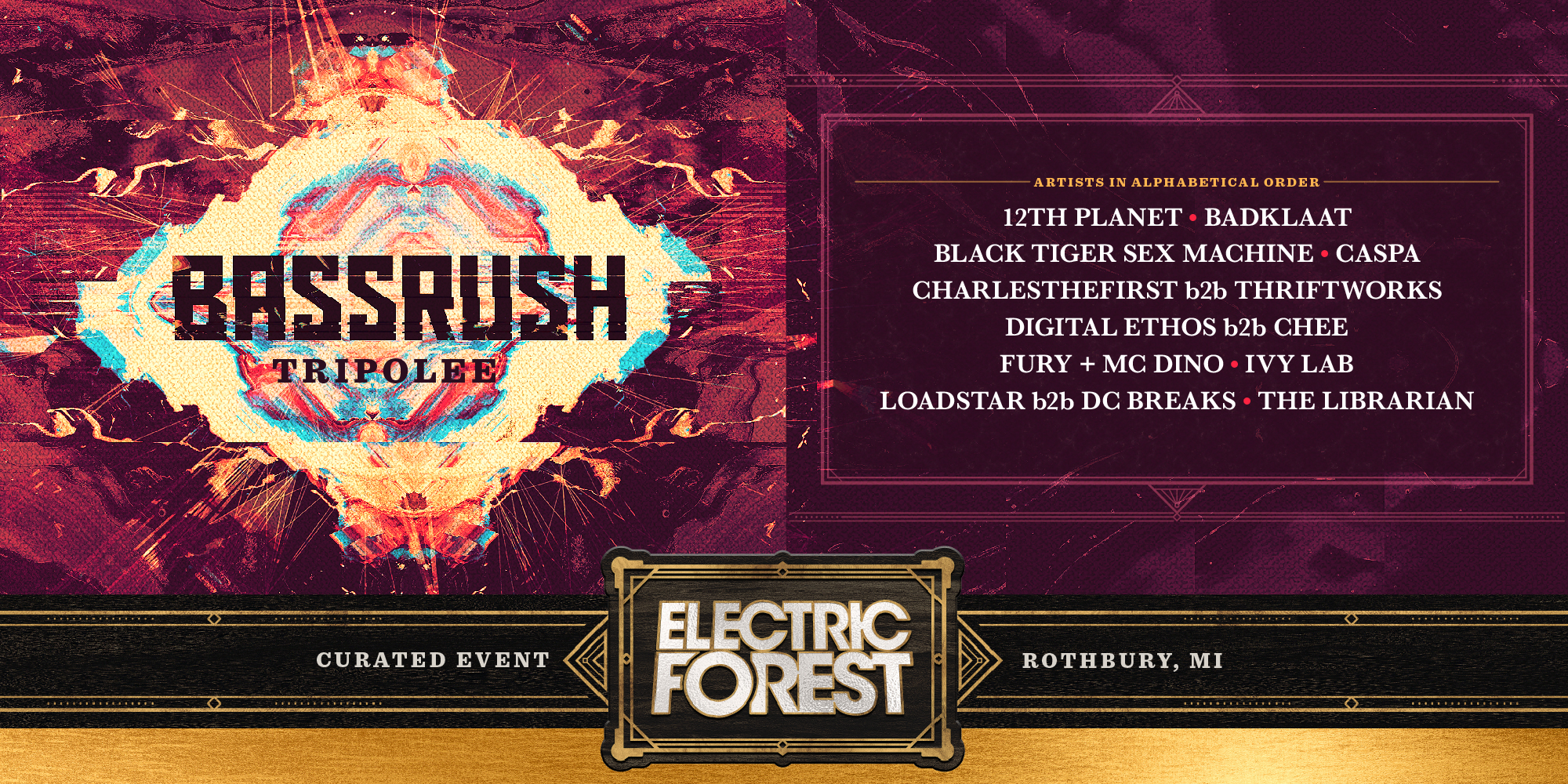 Electric Forest 2019 Bassrush