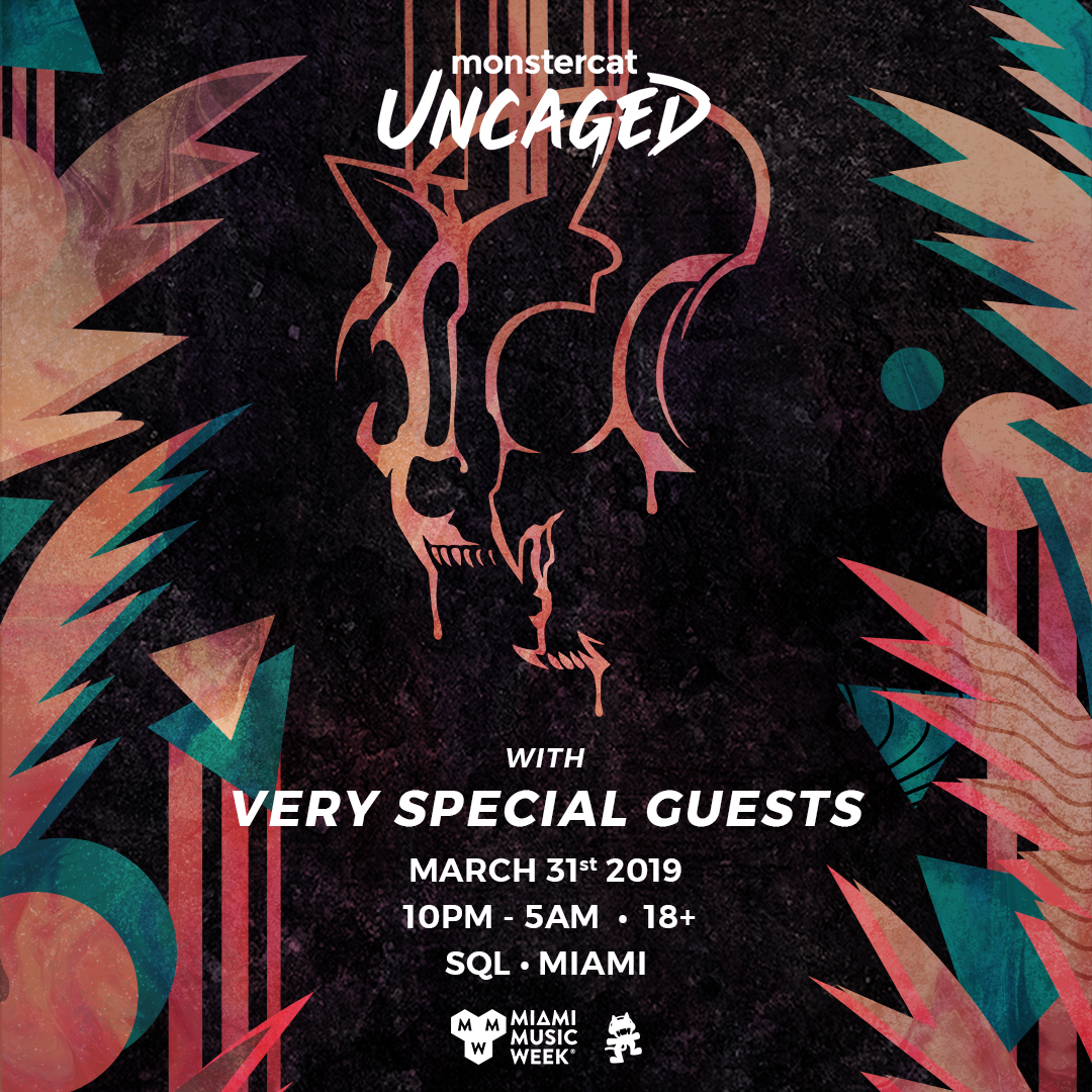 Monstercat Uncaged Miami Music Week 2019