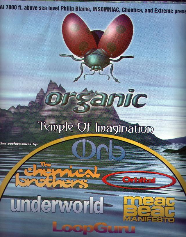 Organic 96 Flyer
