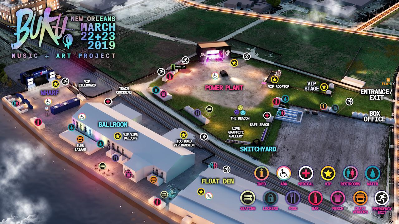 buku 2019 festival map