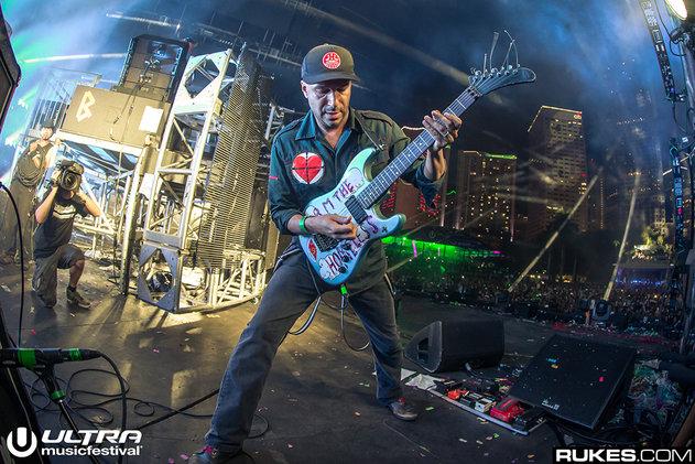tom morello ultra music festival 2016