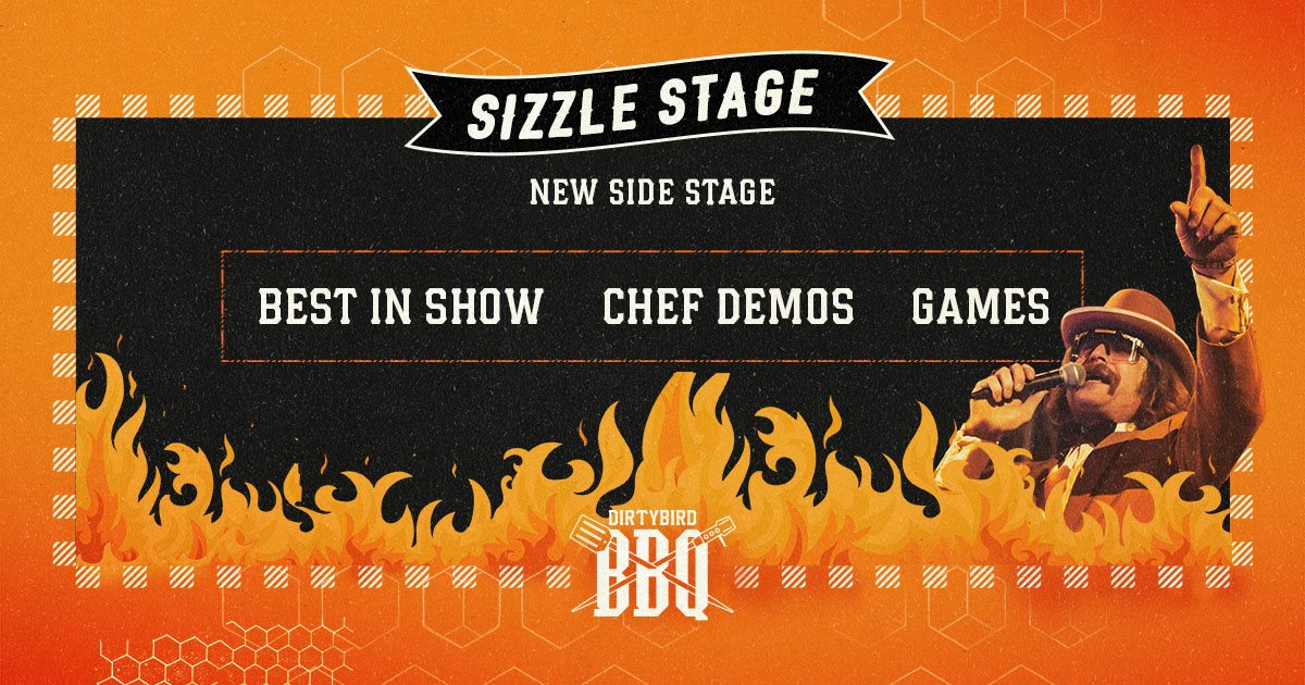 Dirtybird BBQ 2019 Sizzle Stage