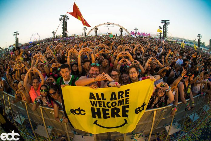 All Are Welcome Here EDC Las Vegas