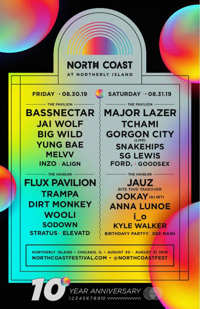 North Coast 2019 Lineup