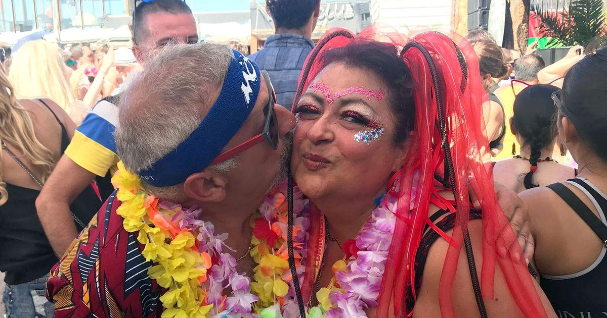 Tonia Semeraro and fiance Nic Grecas