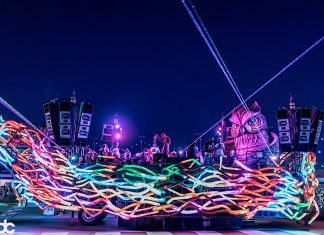 EDC Las Vegas 2017 Parliament Art Car