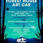 EDC Las Vegas 2019 - Forest House Lineup