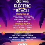 EDC Las Vegas 2019 - Corona Electric Beach Lineup