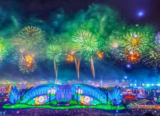 EDC Las Vegas 2019 Fireworks