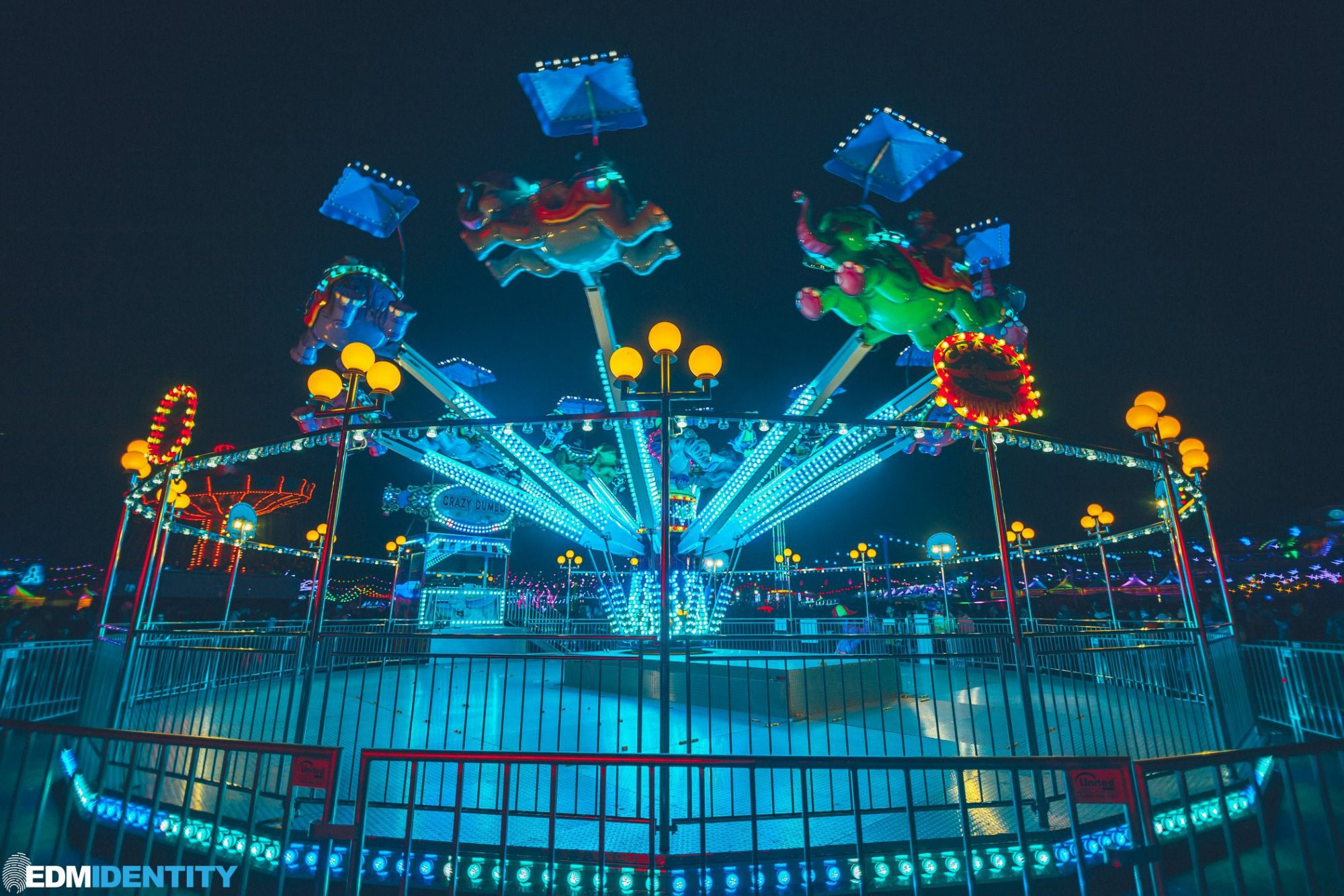 EDC Las Vegas 2019 Dumbo Ride