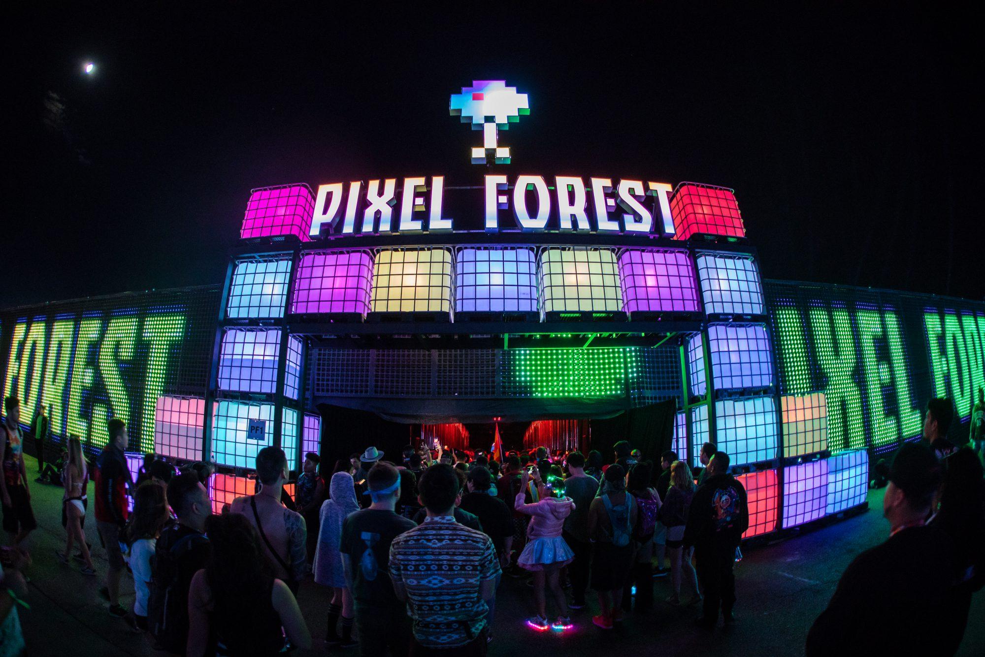 EDC Las Vegas 2019 Pixel Forest
