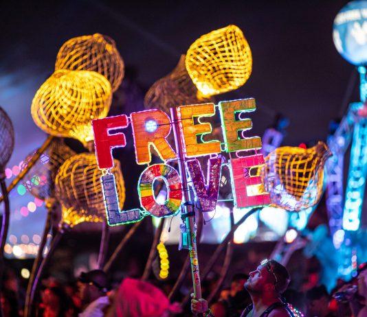 EDC Las Vegas 2019 Free Love Totem