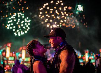 EDC Las Vegas 2019 Ravers Fireworks